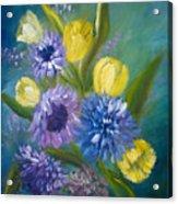 Bonnie Bouquet Acrylic Print
