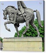 Bonnie Prince Charlie Statue - Derby Acrylic Print