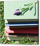 Book Acrylic Print