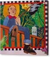 book illustration - Tom Sawyer Acrylic Print