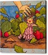 Book Illustration Acrylic Print