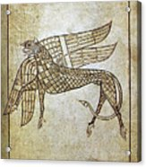 Book Of Durrow, C680 A.d Acrylic Print