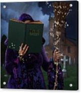 Book Of Magic Spells Acrylic Print