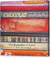 Book Stack II Acrylic Print