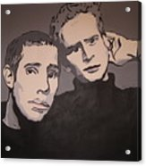 Bookends Acrylic Print
