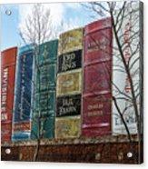 Books Plus Kansas City Acrylic Print