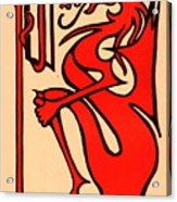 Bookworm 1896 Acrylic Print