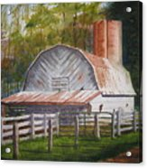 Boone Barn Acrylic Print