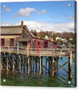 Boothbay Harbor 02287 Acrylic Print