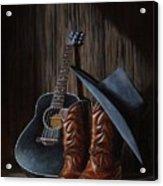 Boots Acrylic Print by Antonio F Branco