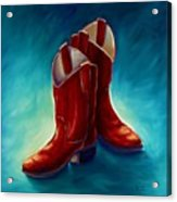 Boots Acrylic Print