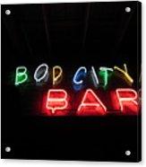 Bop City Acrylic Print