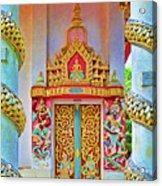 Bophut Temple In Thailand Acrylic Print