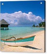Bora Bora, Hotel Moana Acrylic Print by Greg Vaughn - Printscapes