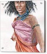 Boran Woman Acrylic Print