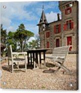 Bordeaux Chateau Acrylic Print