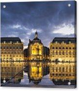 Bordeaux Place De La Bourse  Acrylic Print
