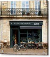Bordeaux Storefront Acrylic Print