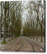 Bordeaux Tram Acrylic Print