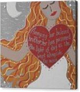 Borghild Acrylic Print