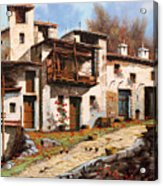 Borgo Di Montagna Acrylic Print
