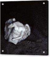 Borken Angel Acrylic Print