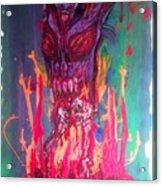Born Of Fire Acrylic Print