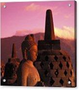 Borobudor Temple Acrylic Print