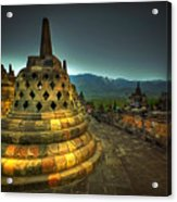 Borobudur Temple Central Java Acrylic Print
