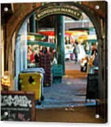 Borough Market Acrylic Print