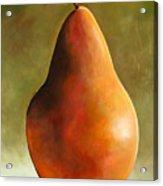 Bosc Pear Acrylic Print