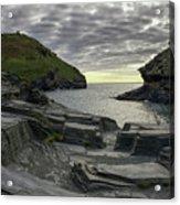 Boscastle Headland Acrylic Print