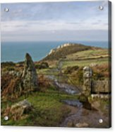 Bosigran In North Cornwall Acrylic Print