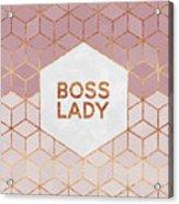 Boss Lady Acrylic Print