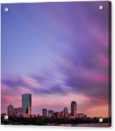 Boston Afterglow Acrylic Print by Rick Berk
