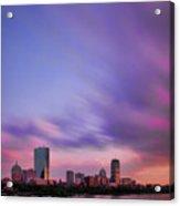 Boston Afterglow Acrylic Print by Rick Berk