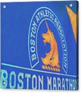 Boston Athletic Association - Boston Marathon Acrylic Print