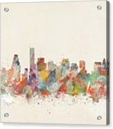 Boston City Acrylic Print