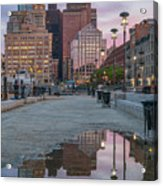 Boston From Long Wharf Acrylic Print