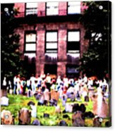 Boston Family Gathering Acrylic Print