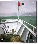 Boston Harbor Cruise  Acrylic Print
