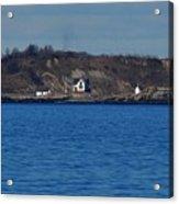 Boston Light And Great Brewster Island Acrylic Print