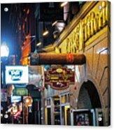 Boston Ma North End Cigar Shop Acrylic Print