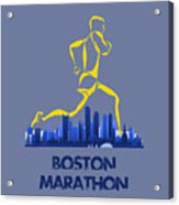 Boston Marathon5 Acrylic Print