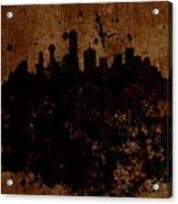 Boston Massachusetts Skyline  Acrylic Print