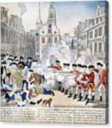 Boston Massacre, 1770 Acrylic Print