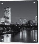 Boston Night Skyline V Acrylic Print