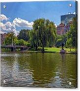 Boston Public Garden Acrylic Print