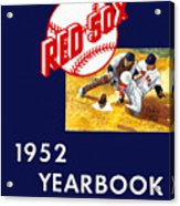 Boston Red Sox 1952 Yearbook Acrylic Print