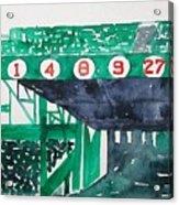 Boston Retired Numbers Acrylic Print